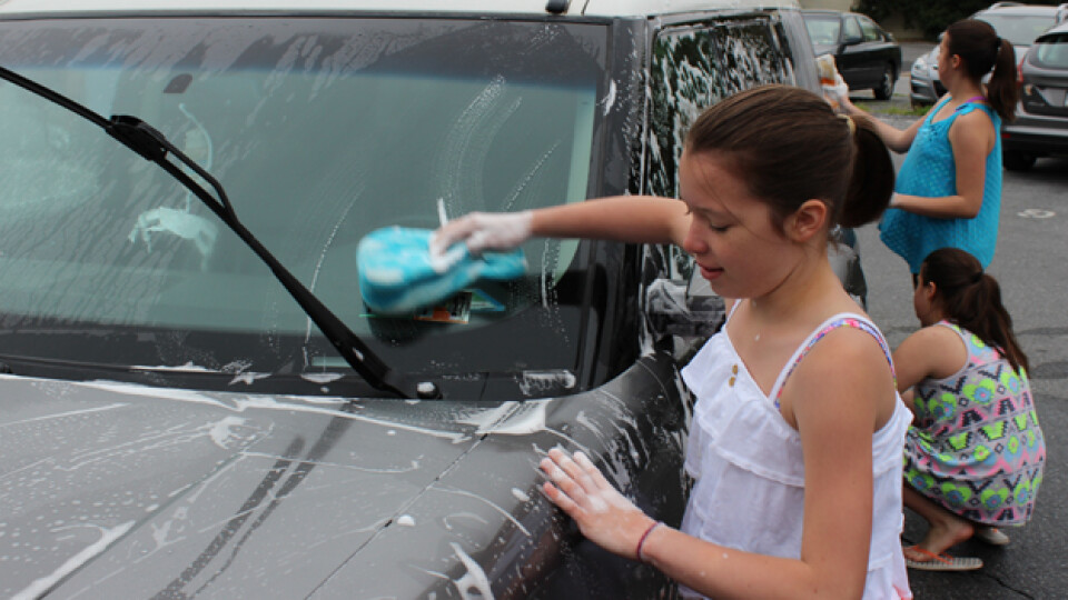 Youth Car Wash and Outreach Team Bake Sale